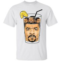 Ice T & Ice Cube Hip Hop Rappers Funny Ice Cube Men's Tee Shirt Short Sleeve