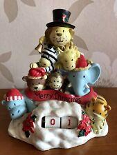 Christmas Festive Animals Advent Calendar Count Down Ornament Xmas Decoration