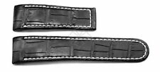 Ebel 1911 Tekton Black Crocodile Watch Band - 26mm