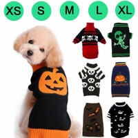 Pet Costume Winter Warm Dog Cat Clothes Halloween Xmas Party Fancy Puppy Sweater