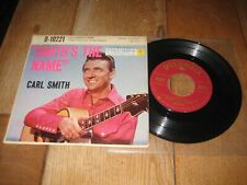 Carl Smith EP.A1.San Antonio rose.A2.Time changes everything.(3750)