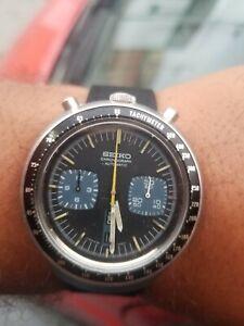 Vintage Seiko Bullhead 6138-0040 Chronograph Automatic Watch