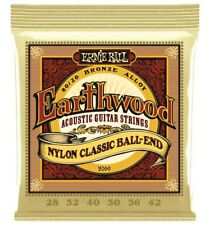 Ernie Ball 2069 - Jeu de cordes guitare folk nylon à boule - Earthwood 80/20 Br