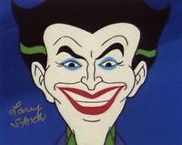 LARRY STORCH SIGNED AUTOGRAPHED 8x10 PHOTO VOICE OF JOKER BATMAN BECKETT BAS