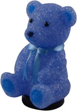Blue Teddy Bear Lamp - Childrens Boy Baby Bedroom Nursery Night Light