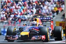 "Daniel Ricciardo huge 18""x 12"" personally signed photo with COA and photoproof"