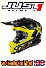 just1 Mx Casco J32 Pro - Rockstar - Joven Medio jus301ym