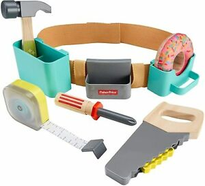 Fisher-Price DIY Tool Belt GGT60  Role Play TOY GIFT SET KIDS NEW