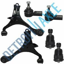 01-05 Honda Civic Acura El Front Lower Control Arm Ball Joint Outer Tie Rod Set