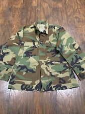 US Military Vintage Genuine Camo Shirt Authentic Camouflage Men's PRE-OWNED #8