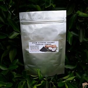 100g Steam Activated Charcoal Powder 100% - Food Grade from Pure Coconut Shells