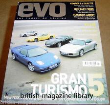 Evo Magazine 43 - RS2 NSX Z3M Coupe Z06 NSX 996 4S Tuscan 2400 GT Cambiocorsa