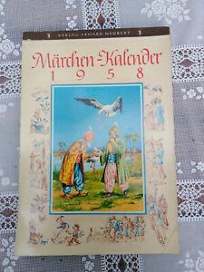 DDR  Märchen-Kalender 1958  Verlag Erhard Neubert  Karl-Marx-Stadt