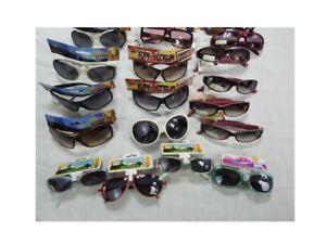 (22-Pack) Girls Assorted UV Protection Sunglasses - Multiple Brands