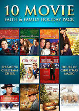10 Movie Faith  Family Holiday Pack (DVD, 2013, 3-Disc Set)