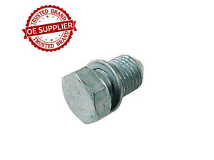 Fits: Audi 90 90 Quattro Cabriolet Engine Oil Drain Plug OE Supplier N90813201