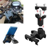 360° Rotation Motorcycle Aluminum Alloy Phone Holder Handlebar Bracket Stand