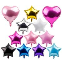 "5Pcs 18"" Foil Star Balloons Helium Wedding Birthday Party Baby Shower Decor"