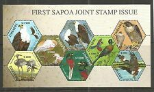 ZIMBABWE 2004 FIRST SAPOA MINISHEET (BIRDS) SG,MS1143 UN/MM NH LOT 49A