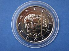 """♣  2 euros Commémorative LUXEMBOURG  2009  """" CHARLOTTE  """" sous capsule"""