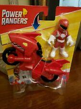 Playskool Heroes Power Rangers Red Ranger With Shark Cycle