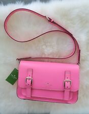 Kate spade new york KS Essex Scout Hot Pink Crossbody Messenger Bag NEW