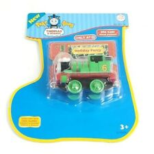 """Take Along Thomas & Friends Holiday Percy 3"""" Metal Train - Target Exclusive 2006"""