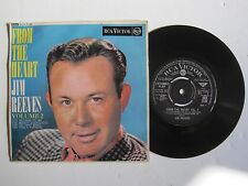 """JIM REEVES - FROM THE HEART VOLUME 2 - 7"""" 45 rpm vinyl record"""