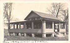 Iowa: Martin to Fern of Grundy Center~One of the Sleeping Porches~RPPC c1910 PC