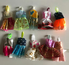 20 items =10 PCS Different Clothes & 10 Pairs Shoes For Kelly Dolls / Toys