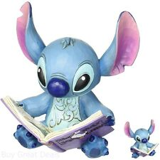 Stitch with Story Book Figurine Jim Shore Enesco Traditions Decoration