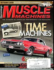 Muscle Machines Magazine September 2009 Time Machines EX w/ML 011917jhe
