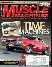 Muscle Machines Magazine September 2009 Time Machines EX w/ML 011917jhe