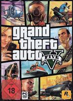 Grand Theft Auto V GTA 5 - für PC  DVD-BOX - NEU & OVP - Deutsche Version
