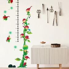 Nome's Little World Growth Chart Vinyl Wall Stickers kid Art Home Mural Decor