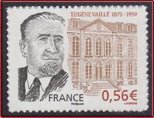 2009 FRANCE 369A** AUTOADHESIF Eugène Vaillé VARIETE contour droit visage absent