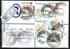 Namibia Cover - Bachbrecht 21.01.2005 to Swakopmund