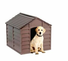 Doghouse Doghouse Resin cm 72x71, 5x68H for Dogs Slice Small Outer and Internal
