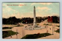 Buffalo NY, McKinley Monument, Vintage New York Postcard