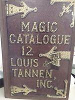 Louis Tannen CATALOG OF MAGIC NO. 12 Vintage Tricks Gags Jokes Novelties