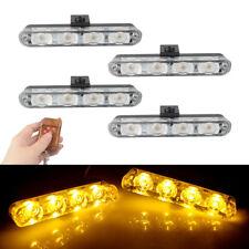 Car Motorcycle Police Strobe Flash Light Dash Emergency Flashing Light Lamps 12V