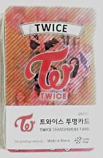 TWICE Transparent Photo Cards 25pcs Size 2.1 x 3.3 inches (5.5 x 8.5cm)  KPOP