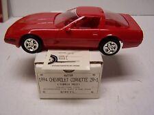1994 Corvette ZR1 Promotional Model Promo In Original Box Torch Red 6258