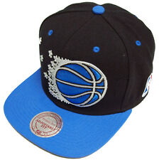Mitchell & Ness 2 Tone Orlando Magic Snapback Cap eu064 Cappuccio Basecap MEN NUOVO