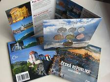 TSCHECHIEN 2016 KMS COIN SET ST BU - CESKA REPUBLIKA - TSCHECHISCHE REPUBLIK -