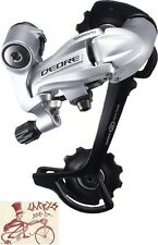 SHIMANO DEORE M591-SGS 9-SPEED LONG CAGE SILVER MTB REAR DERAILLEUR-NO PACKAGE