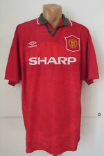 Manchester United 1994/1995 Home Football Shirt Soccer Jersey Umbro Shapr Xxl 2X