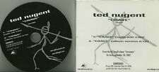 TED NUGENT Crave US 2 TRK Promo CD