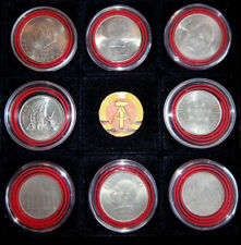 DDR Sammellot von 8 Münzen