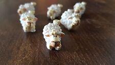 Schafe Streudeko mit Klebepunkt 3D dekorieren Geschenk ankleben NEU DECO  R9